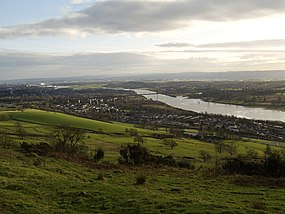 Clydebank from Kilpatrick Hills - geograph.org.uk - 326607.jpg