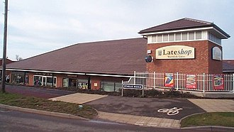 The Co-operative Group - Example of the 'Late Shop' branding on the co-op store in Whitnash