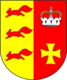 Coat of arms of Akciabrski.png