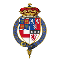Coat of arms of Henry Somerset, 2nd Duke of Beaufort, KG.png