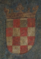 Coat of arms of Kingdom of Croatia from 1495 (Innsbruck).png