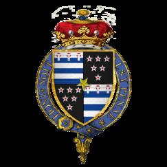 Brasão de armas de Sir Thomas Gray, 2º Marquês de Dorset, KG.png