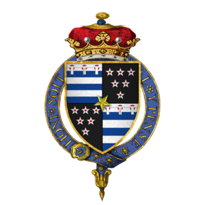 Thomas Grey, 2nd Marquess of Dorset - Arms of Thomas Grey, 2nd Marquess of Dorset, KG