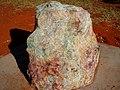 Cobar NSW Rock containing Copper Ore.jpg
