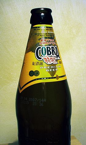 logo de Cobra Beer