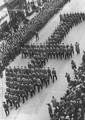 Corneliu Zelea Codreanu - Codreanu's funeral, December 1938