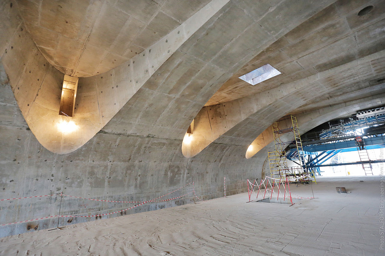 File:Coffered vault of concrete jpg - Wikimedia Commons