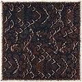 Collectie NMvWereldculturen, RV-847-8, Batikpatroon, 'Semen tokol', voor 1891.jpg