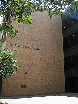 University of Texas at Austin College of Education - The College of Education is housed in the George I. Sanchez Building on the University of Texas campus in Austin, Texas.