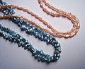 Colored freshwater pearls.JPG
