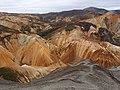 Colorful Mountains in Landmannalaugar - 2013.08 - panoramio.jpg