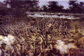 Portuguese Colonial War - The Battle of Marracuene in 1895