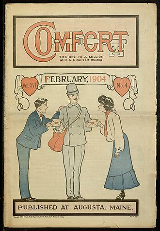 Comfort (magazine) - Comfort, v. XVI, no. 4, February 1904