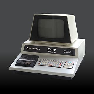Commodore PET home computer