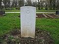 Commonwealth War Grave in Jarrow Cemetery (WW2-04) - geograph.org.uk - 1604368.jpg
