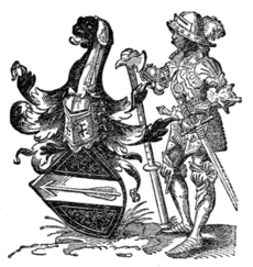 Fig. 666.—Arms of Sigmund Hagelshaimer.