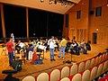 Con la Orquesta Nacional de Flautas, IV convención francesa de flautas, Paris, 2012.jpg