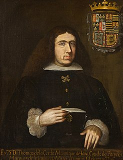 Tomás de la Cerda, 3rd Marquess of la Laguna Spanish noble