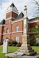 Confederate memorial at Twiggs County Courthouse, Jeffersonville, GA, US.jpg