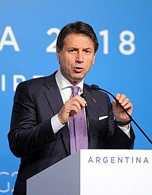 Il premier Conte al G20 in Argentina, 2018.