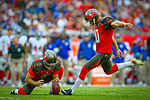 Connor Barth attempts field goal 8 November 2015 151108-F-ID984-017.jpg