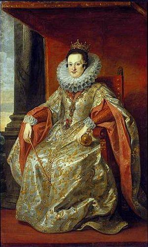 Constance of Austria - Portrait by Pieter Soutman
