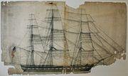 Constitution. Sail plan - NARA