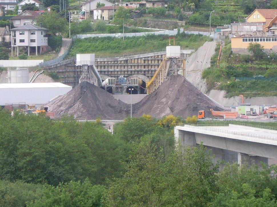 Construción túnel das Maceiras