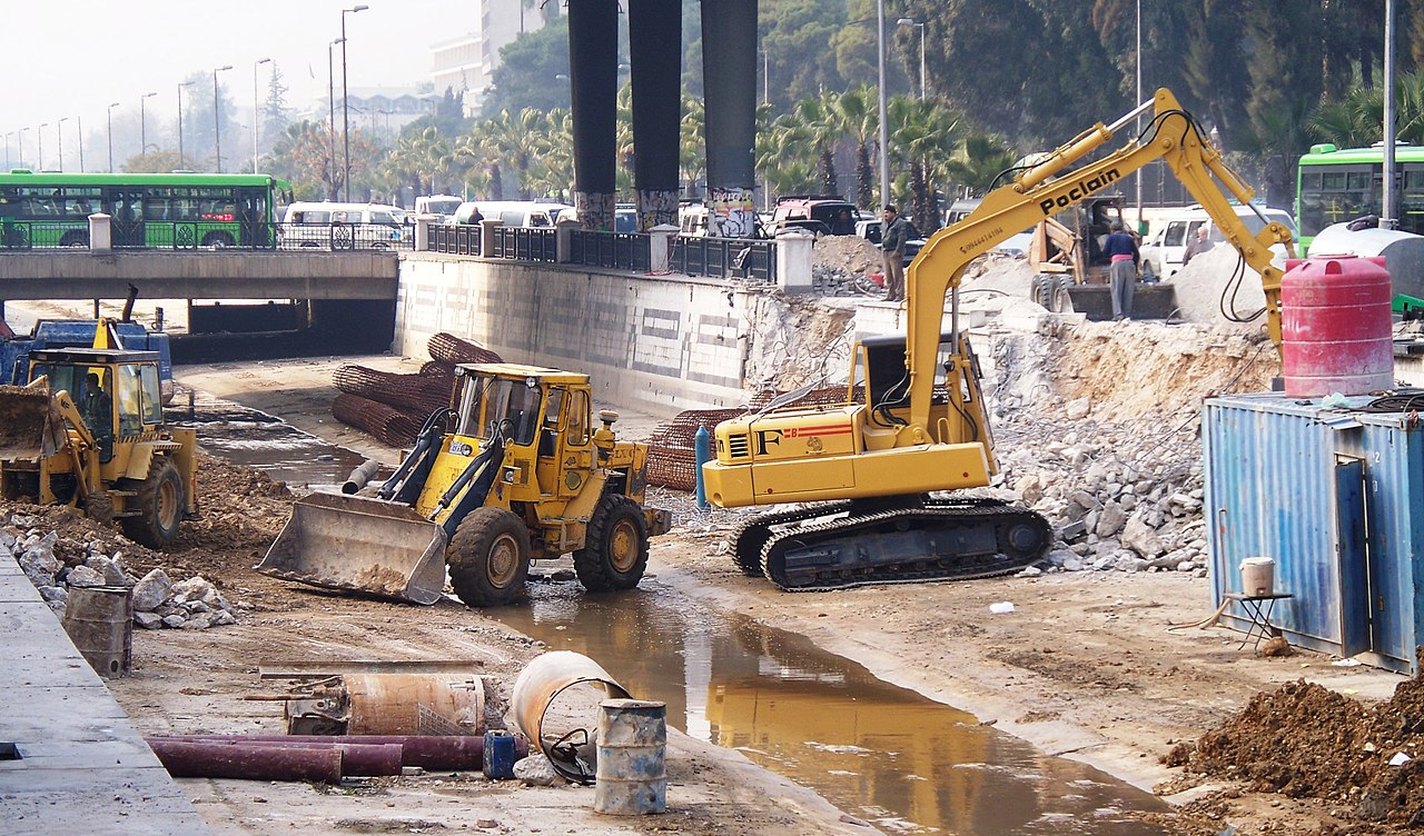 File:Construction vehicles in Damascus, Syria.JPG - Wikimedia Commons