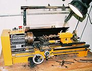 Conventional metalworking lathe
