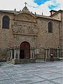 Convento de la Anunciación, Alba de Tormes. Portada.jpg