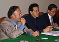Conversatorio con la prensa sobre temas económicos (ALBA y SUCRE) ofrecido por el Canciller Falconí, el Ministro Borja y el Viceministro Oleas (4031746329).jpg