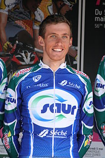 Jérôme Coppel French road bicycle racer