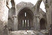 Corcomroe Abbey Crossing And Presbytery 1997 09 03