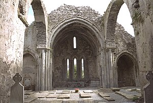 Corcomroe Abbey Crossing And Presbytery 1997 09 03.jpg