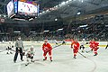 Cornell vs Northeastern NCAA ice hockey-at Dunkin Donuts Center.jpg