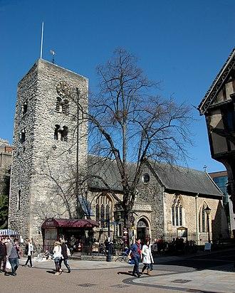 St Michael at the North Gate - Image: Cornmarket St Michael