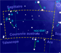 Corona australis constellation map-fr.png