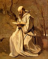 Corot Monk Reading Book 1.jpg