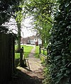 Corpusty - footpath traversing the green - geograph.org.uk - 1257429.jpg