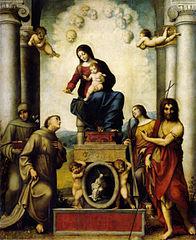 Madone de Saint François