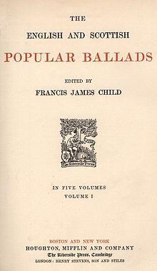 child ballads wikipedia