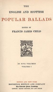 Image result for child ballads
