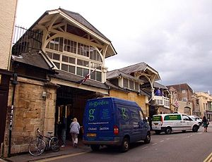Covered Market, Oxford - Northern entrance to the Covered Market.