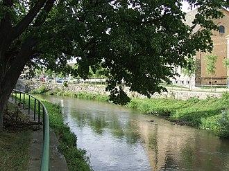 Cristian, Sibiu - Image: Cristian village, Sibiu County Cibin river
