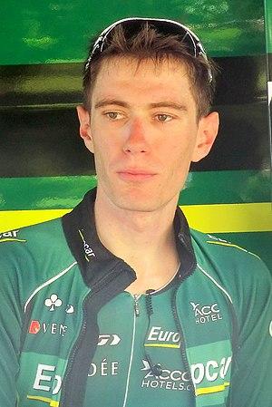 Pierre Rolland (cyclist) - Rolland at the 2013 Critérium du Dauphiné