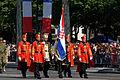 Croatian detachment Bastille Day 2013 Paris t105017.jpg