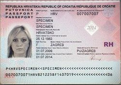 Passports of the european union wikipedia croatian passport data pageg ccuart Images