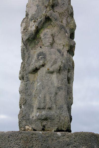Croix de cimetière (Grand-Champ): personnage 2