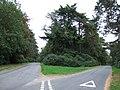 Crossroads in Wolferton - geograph.org.uk - 1509971.jpg